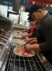 6.B v pizzerii